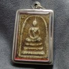 PHRA SOMDEJ MAGIC LUCKY YANT OF LP DANG THAI BUDDHA REAL POWERFUL AMULET PENDANT