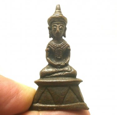 1919 NGANG KANANG LUCKY LOVE SEX APPEAL ATTRACTION AMULET THAI ANTIQUE TALISMAN