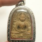 POWERFUL THAI BUDDHA ANTIQUE AMULET SOOMGOR MONEY RICH LUCKY HAPPY LIFE PENDANT