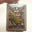 LP PERN RIDE TIGER LORD HANUMAN MUAY THAI AMULET LIFE PROTECTION BUDDHA PENDANT
