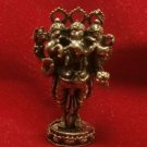 LORD GANESH GANESHA ELEPHANT GOD HINDU THAI MINI AMULET SUCCESS WIN ALL OBSTACL