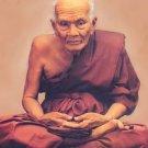 LUCKY AMULET THAILAND MINI MINIATURE LP TUAD THUAD THAI REAL SACRED LEGEND MONK