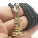 LORD BUDDHA ENLIGHTEN BLESSING SUCCESS LUCKY THAI BUDDHA AMULET PENDANT NECKLACE