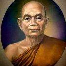 SANGKARAJ MEE 3rd THAI MONK KING COIN BUDDHA MAGIC AMULET LUCKY PENDANT NECKLACE
