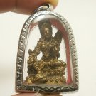 MAA LAXMI LAKSHMI HINDU DEITY GODDESS RICH WEALTH LUCKY AMULET BEAUTIFUL PENDANT