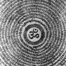 OM OHM AUM HINDU DEITY TRIMURTI INDIA GOD SIGN PRANAVA PENDANT AMULET NECKLACE