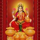 MAA LAXMI LAKSHMI DEVI SRI HINDU DEITY GODDESS RICH WEALTH LUCKY PENDANT AMULET