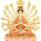 GUAN YIN QUAN IM 1000 HANDS BUDDHA PENDANT BLESSING FOR SUCCESS HAPPY LUCKY LIFE