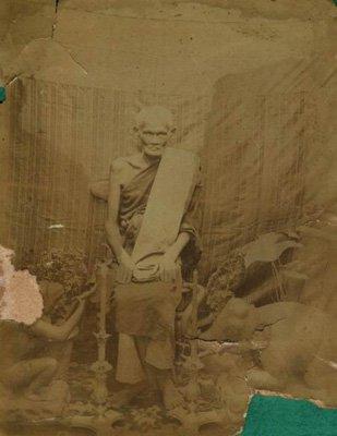 PIDTAWAN PIDTA CLOSE EYE EARS ANUS BUDDHA LP BOON THAI AMULET PROTECTION PENDANT