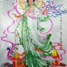 GUAN YIN PENDANT YIN & YANG KUAN QUAN IM MERCY GOD BUDDHA SUCCESS LUCKY NECKLACE