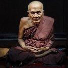 LP TUAD THUAD WAT CHANGHAI THAI LIFE PROTECTION BUDDHA RARE AMULET LUCKY PENDANT