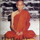 THAI BUDDHA AMULET 2521 LP TOH BLESSED MIRACLE PENDANT SUCCESS RICH MONEY WEALTH
