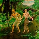 THAI MINI BRASS AMULET GOOD CHARM POO CHUCHOK LUCKY MONEY RICH SUCCESS TALISMAN