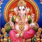 HINDU MINI AMULET OM GANAPATI VINAYAKA GANESHA GANESH GOD SUCCESS WIN OBSTACLE
