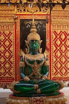 THAI AMULET PENDANT PRAKAEW BUDDHA HEALING HEALTHY LUCKY RICH SUCCESS HAPPY LIFE