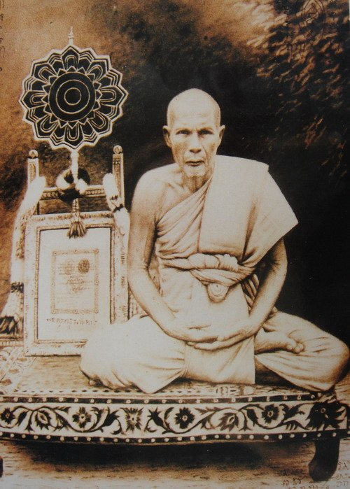 THAI BUDDHA AMULET PENDANT THAILAND VERY RARE REAL POWERFUL PHRA SOMDEJ LP PUEK