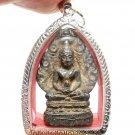 NAKPROK NAGA SNAKE THAI ANTIQUE AMULET STRONG PROTECTION BUDDHA BLESSING PENDANT