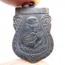 LP KLAI COIN BLESSED 2500 BE. SUCCESS LUCKY RICH PENDANT THAI REAL BUDDHA AMULET