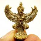 THAI MINI AMULET GARUDA PHAYA KRUT MAGIC EAGLE BIRD BLESS STRONG LIFE PROTECTION