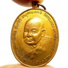 LP KLING COIN KING RAMA 9 SIGN BLESS 1978 LUCKY RICH PENDANT THAI BUDDHA AMULET
