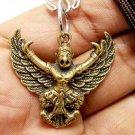 PHAYA KRUT GARUDA MAGIC EAGLE BIRD AMULET LIFE PROTECTION GUARD PENDANT NECKLACE