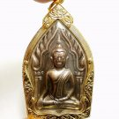 BIG KHUNPAEN GUMAN THONG LP POON THAI LOVE AMULET REAL PENDANT LUCKY GAMBLE RICH