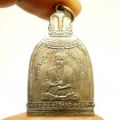 PHRA SOMDEJ TOH WAT RAKANG BELL SHAPE PENDANT THAI MIRACLE AMULET LUCKY SUCCESS