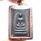 PHRA SOMDEJ MAKASIT LEKLAI THAI POWERFUL MAGIC METAL BUDDHA BLESS AMULET PENDANT