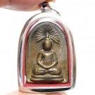 LP JUER BUDDHA RASAMI BACK BEAKAE THAI POWERFUL AMULET LUCKY RICH SUCCESS HAPPY