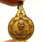 LP UTTAMA COIN BLESSED 1977 STRONG PROTECTION AMULET LUCKY WEALTH MAGIC PENDANT