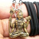 LORD SHIVA MAHADEVA HINDU DEITY PENDANT NECKLACE BLESSING STRONG LIFE PROTECTION