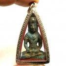 CAMBODIA KHMER LORD BUDDHA ANTIQUE AMULET HEALING GOOD HEALTH PROTECTION PENDANT