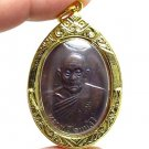 LP SEE LONG LIFE 127 YEARS MONK 1976 COIN BACK PIDTA BUDDHA THAI AMULET PENDANT