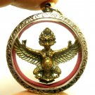 GARUDA PHAYA KRUT THAI AMULET MAGIC EAGLE BIRD BLESSED STRONG PROTECTION PENDANT