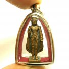 LORD BUDDHA PENDANT BLESSED MAGIC MANTRA LIFE PROTECTION RICH LUCKY THAI AMULET