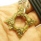NAGA NAK SNAKE PENDANT BLESSED AMULET NECKLACE CHARM THAI LOVE APPEAL ATTRACTION