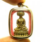 NAWAGOTE 9 FACES LORD BUDDHA PENDANT THAI BRASS AMULET WIN OBSTACLES LUCKY RICH