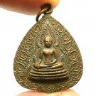 PHRA BUDDHA CHINNARAJ COIN BLESSED 1971 THAI POWERFUL AMULET MAGIC YANT PENDANT