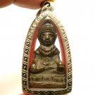 POWERFUL KHMER CAMBODIA METAL BUDDHA AMULET PENDANT SUCCESS HAPPY PEACEFUL LIFE