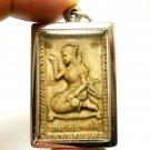 NANGKWAK LADY CALL MONEY FORTUNE & SARIKA MAGIC BIRD THAI BUDDHA AMULET PENDANT