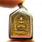 LP TIM BLESSED 1971 KHUNPAEN PRAI KUMAN THAI BUDDHA MAGIC TAKRUT AMULET PENDANT
