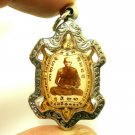 BLESSED TURTLE PENDANT LP LEW MAGIC TAKRUT THAI POWERFUL AMULET LUCKY PROTECTION