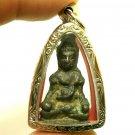 POWERFUL KHMER CAMBODIA METAL AVALOKITESVARA BUDDHA AMULET PENDANT SUCCESS RICH