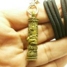 TAKRUT CROUCHING TIGER LP KUI STRONG LIFE PROTECTION LUCKY THAI NECKLACE PENDANT