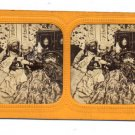 French Tissue Stereoview