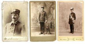 Cabinets: Fireman, Knights of Templar, Bandsman