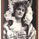 Autographed Isabel Irving by Sarony Cabinet Card