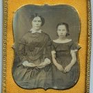 Sixth plate of two sisters.