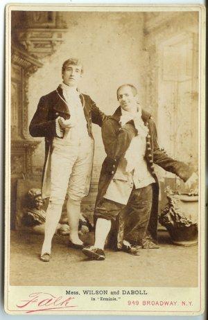 Wilson and Daboll in Erminie By Falk
