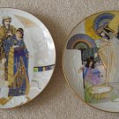 Set of Two Plates by Knowles
